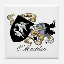 O'Madden Coat of Arms Tile Coaster