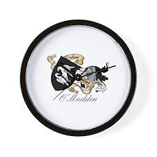O'Madden Coat of Arms Wall Clock