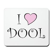 I Heart DOOL Mousepad