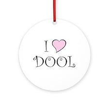 I Heart DOOL Ornament (Round)
