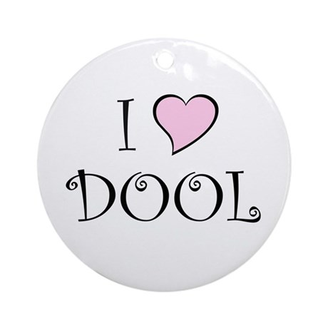 I Heart DOOL Ornament (Round)