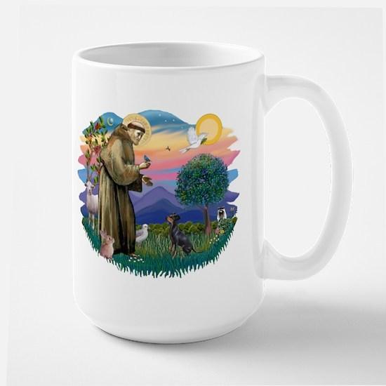 St Francis #2/ Manchester T Large Mug