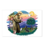 St Francis #2/ Manchester T Postcards (Package of
