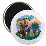 St Francis #2/ Sloughi Magnet