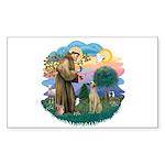 St Francis #2/ Sloughi Sticker (Rectangle 10 pk)