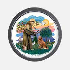 St Francis #2/ Novia Scotia Duck Wall Clock
