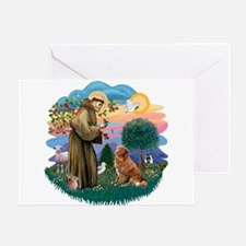 St Francis #2/ Novia Scotia Duck Greeting Card