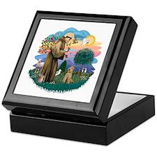 St Francis #2/ Lakeland T Keepsake Box