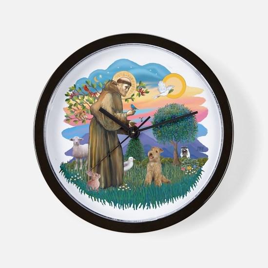 St Francis #2/ Lakeland T Wall Clock