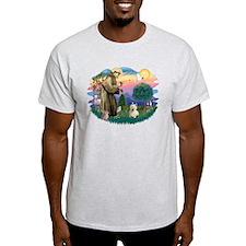 St Francis #2/ Westie #1 T-Shirt
