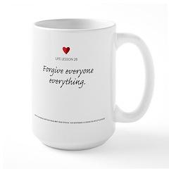 Lesson 28 Red Oval Large Mug