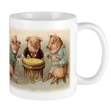 GAMBLING PIGS Mug