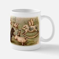 PLAYING PIGS Mug