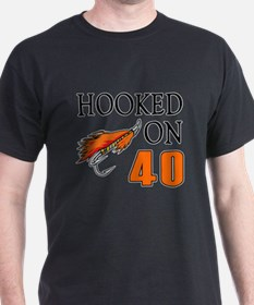 40th Birthday Fisherman T-Shirt