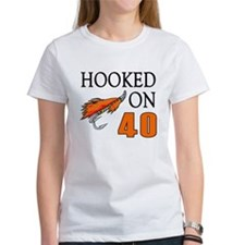40th Birthday Fisherman Tee