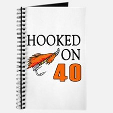 40th Birthday Fisherman Journal