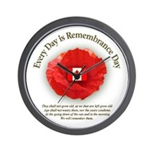 Unique Remembrance day Wall Clock