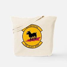 8th Fighter Squadron Black Sh Tote Bag