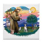 St Francis #2/ Boston T #1 Tile Coaster