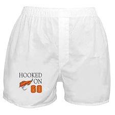 60th Birthday Fisherman Boxer Shorts