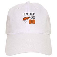 60th Birthday Fisherman Baseball Cap