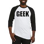GEEK (Bold) Baseball Jersey
