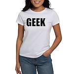 GEEK (Bold) Women's T-Shirt