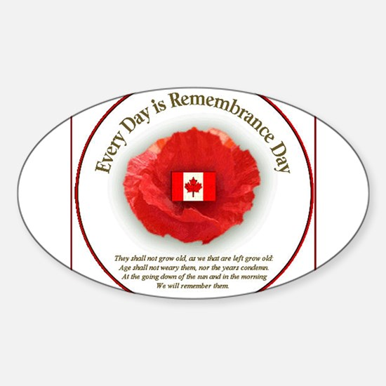Canadianmemorial-vi Decal