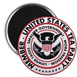 "Tea Party 2.25"" Magnet (100 pack)"