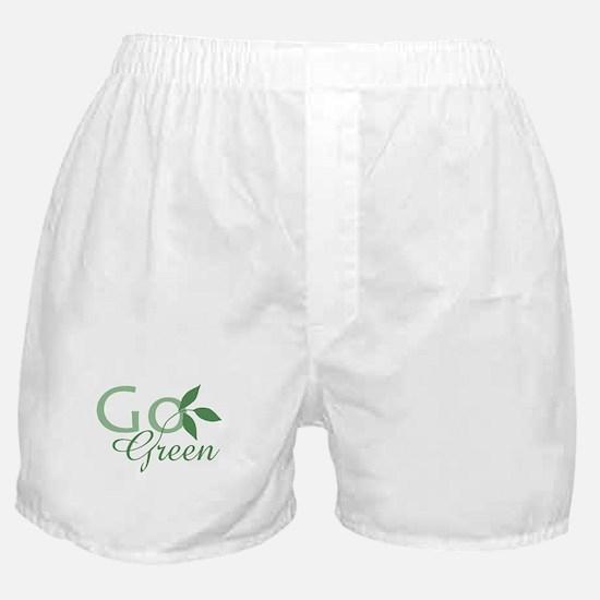 Go Green: Boxer Shorts