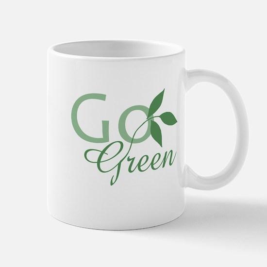 Go Green: Mug