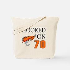70th Birthday Fisherman Tote Bag