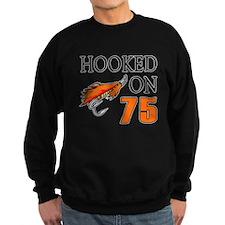 75th Birthday Fisherman Sweatshirt