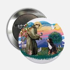 "St Francis #2/ BMD 2.25"" Button"