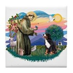 St Francis #2/ BMD Tile Coaster