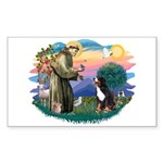 St Francis #2/ BMD Sticker (Rectangle)