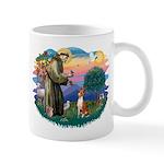 St Francis #2/ Basenji Mug