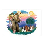 St Francis #2/ Cavaliers Postcards (Package of 8)