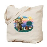 St Francis #2/ Cavaliers Tote Bag