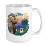 St Francis #2/ Cairn T (#14) Large Mug