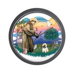 St Francis #2/ Cairn T (#14) Wall Clock