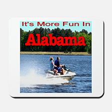 Jet Skiing Alabama Mousepad