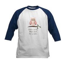 Give A Hoot Pink Ribbon Owl Tee