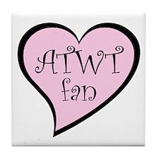 ATWT Fan Tile Coaster
