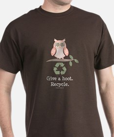 Give A Hoot Recycle T-Shirt