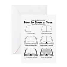 How to Draw a Novel - Greeting Card