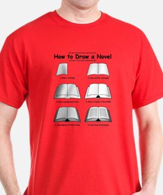 How to Draw a Novel - T-Shirt