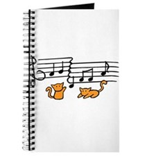 Orange Kitty Notes Journal