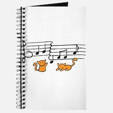 Orange Kitty Notes Journal