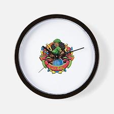 Cute Dreadlocks Wall Clock
